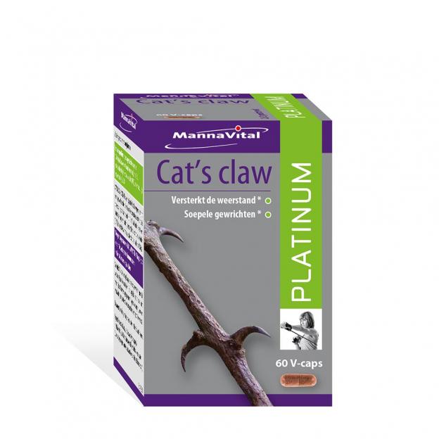 Mannavital Cat's Claw Platinum