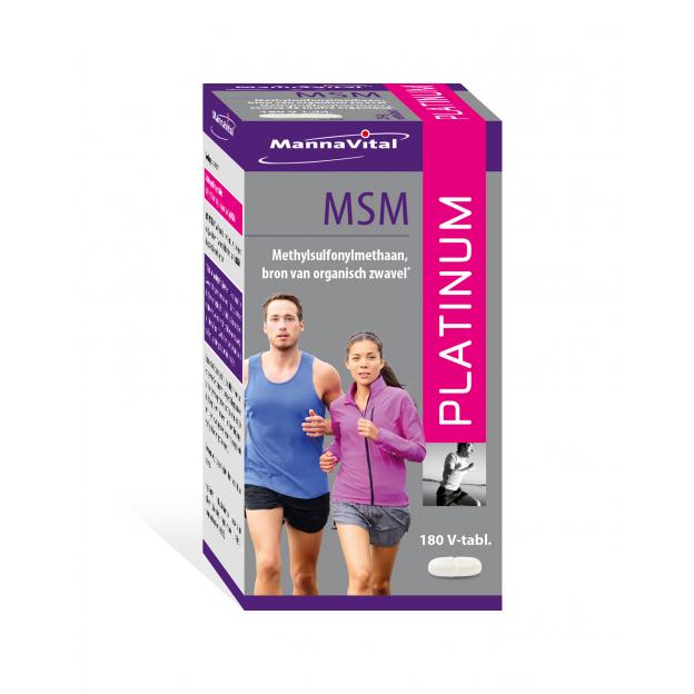 Mannavital MSM Platinum tabletten 180