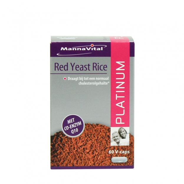 Mannavital Gefermenteerde Rode Rijst