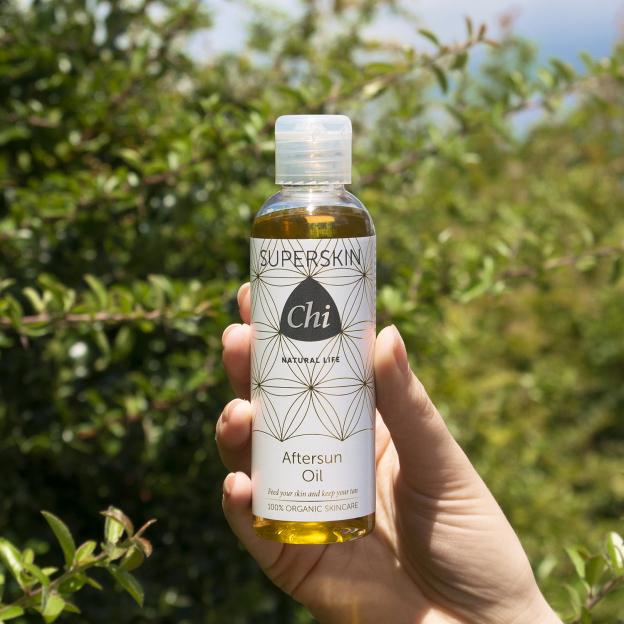 Superskin Aftersun Oil, biologisch