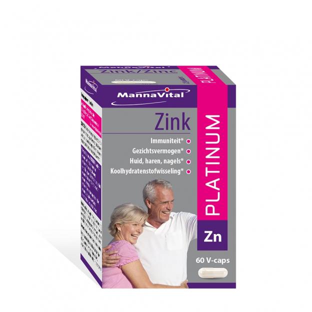 Mannavital Zink Platinum